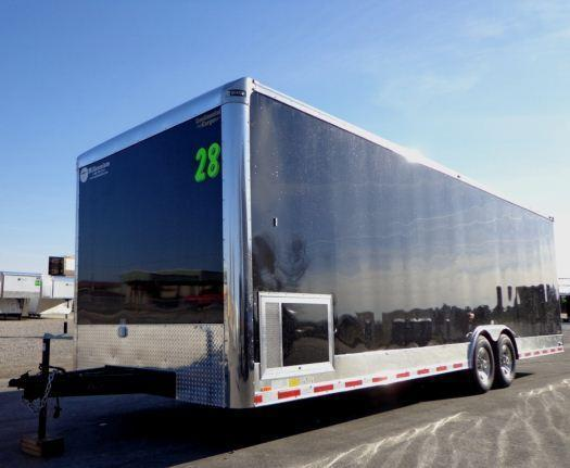 2020 28' Millennium Auto Master Race Trailer in Ashburn, VA
