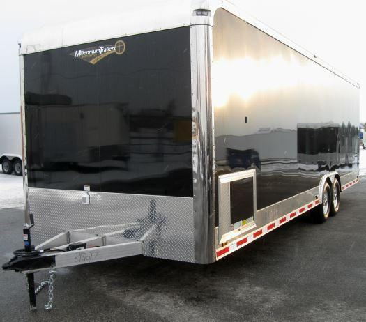 2020 28' Millennium Auto Master Car/Race Trailer