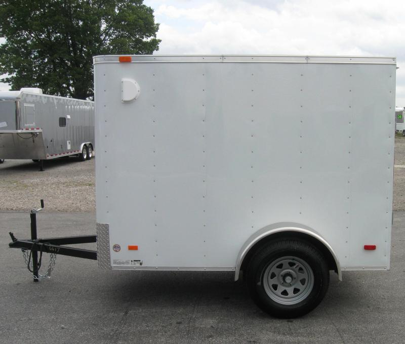 5'x8' Hero Enclosed Cargo Trailer