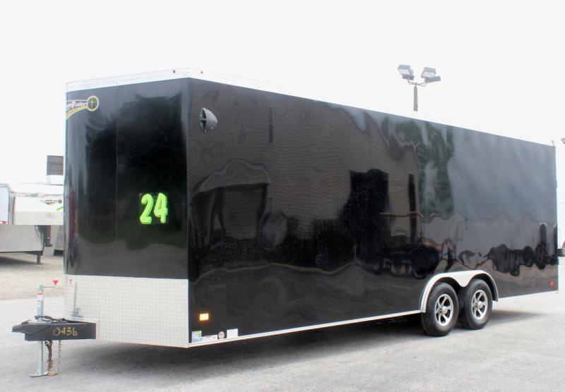2019 24' Haulmark Transport V Car Trailer Alum Wheels/ White Wall & Ceiling in Ashburn, VA