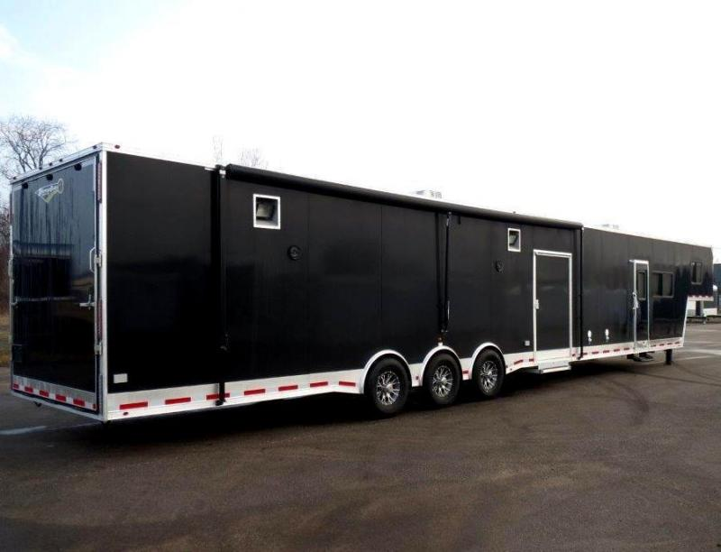 Gooseneck Living Quarters Enclosed Trailers For Sale