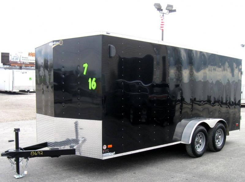 7'x16' Scout Enclosed Cargo with Double Doors in Ashburn, VA