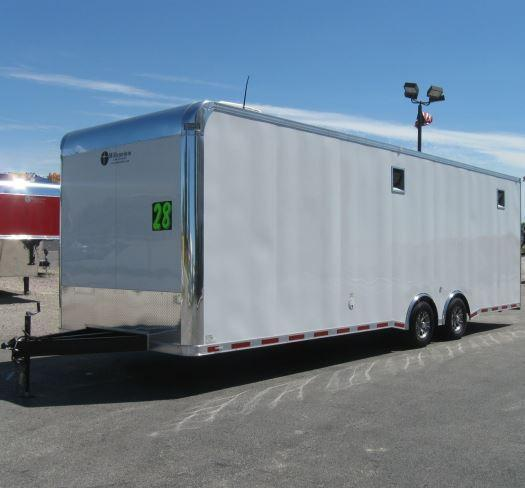 Custom Order  28' Millennium Enclosed Car Trailer w/Mini Lounge in Ashburn, VA