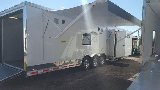 Custom Double Slides- 34' Millennium Auto Master Tri Axle Enclosed Trailer in Ashburn, VA