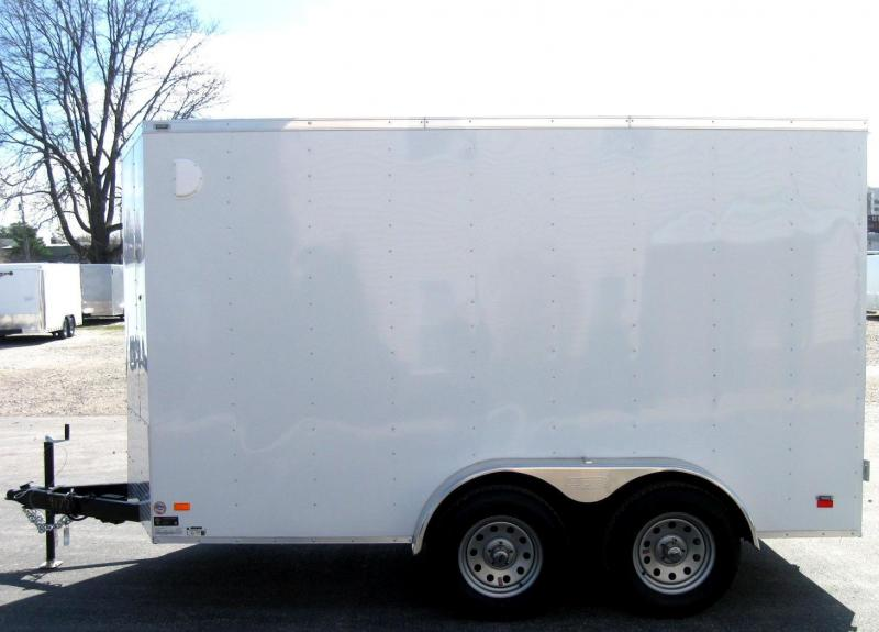 6'x12' Scout Enclosed Cargo with Double Doors Tandem Axle