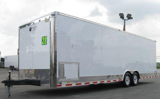 2020 28' Millennium Enclosed  Race Car Trailer in Ashburn, VA