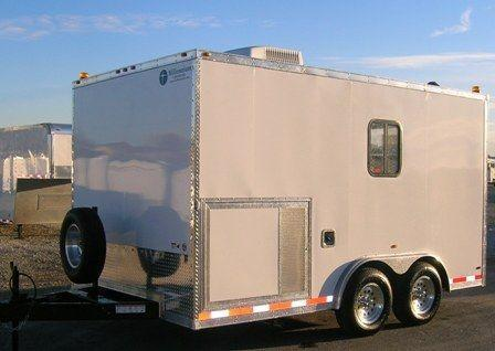 Custom Fiber Optic Splicing Enclosed Trailer in Ashburn, VA