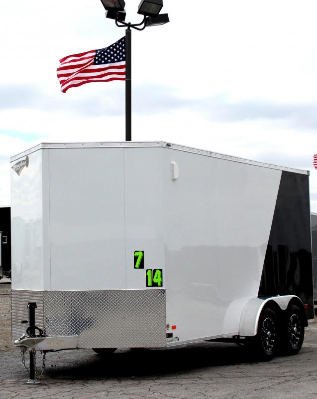 "<b>Call for Price</b> 2019 ALL ALUMINUM 7'x14' Scout Cargo with Super Saver Pkg. 6"" Extra High Alum Wheels PLUS Free Upgrades  in Ashburn, VA"