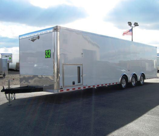 2018 32' Millennium Limited Race Car Trailer