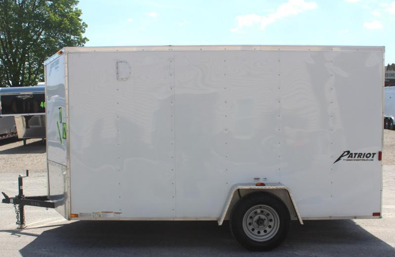 <b>Sale Pending</b>Pre-Owned 7'x12' 2016 Homesteader Patriot Enclosed Cargo Trailer