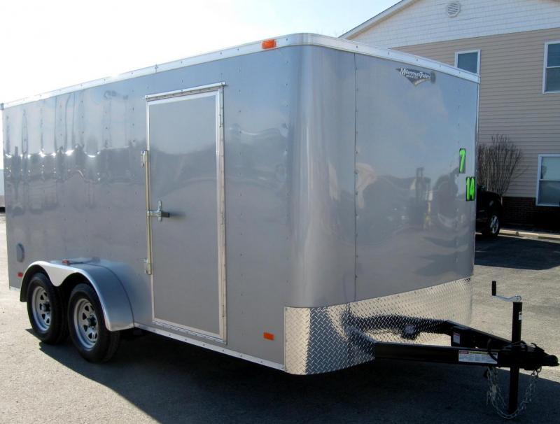 7'x14' Hero Budget Enclosed Cargo Trailer w/Ramp Door in Ashburn, VA