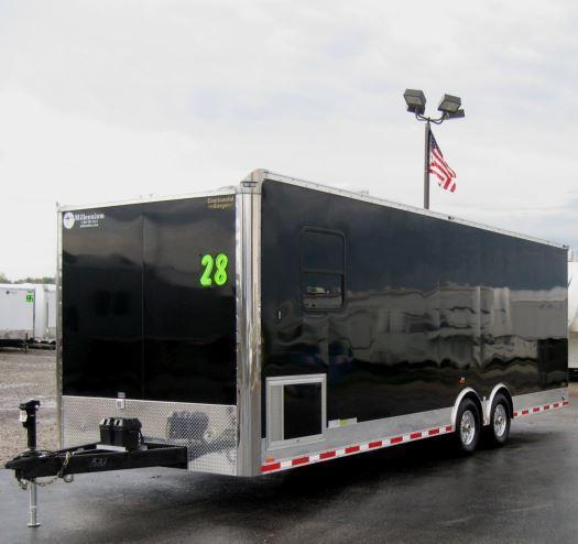 Custom 28' Millennium  Auto Master Enclosed Trailer Recessed E-Track in Ashburn, VA