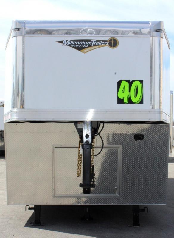 NOW READY 2020 40' Millennium Extreme Gooseneck Race Trailer