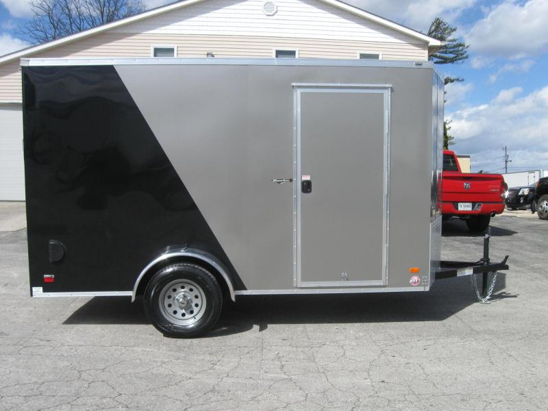 6'x12' Scout Cargo Trailer w/Ramp Door & Plus Pkg & Free Upgrades