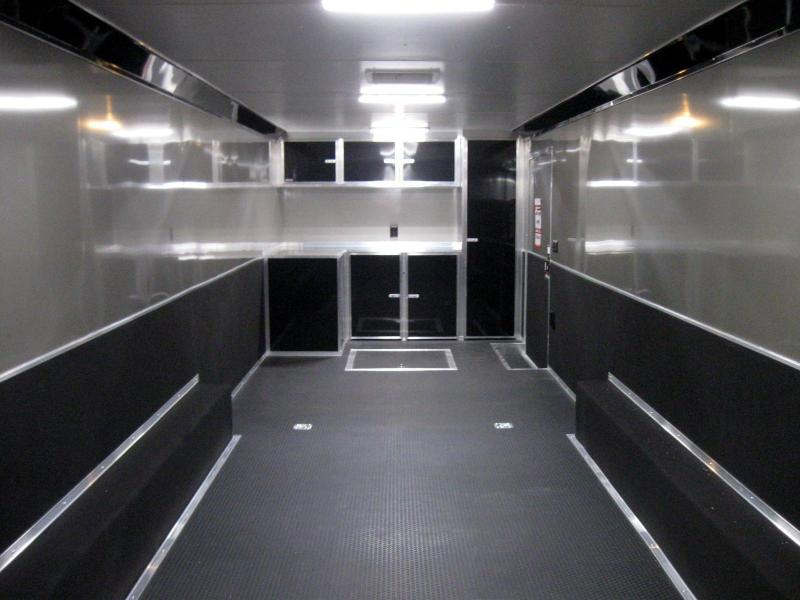 2020 ALL ALUM 32' Millennium Extreme Black Cabinets & Wing