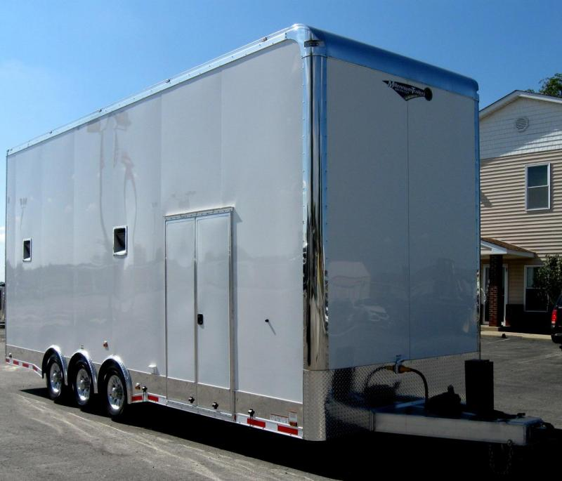<b>Custom Builds Only</b> 2020 26' STACKER All Aluminum with Stinger Lift White or Black Available Black Cabinets