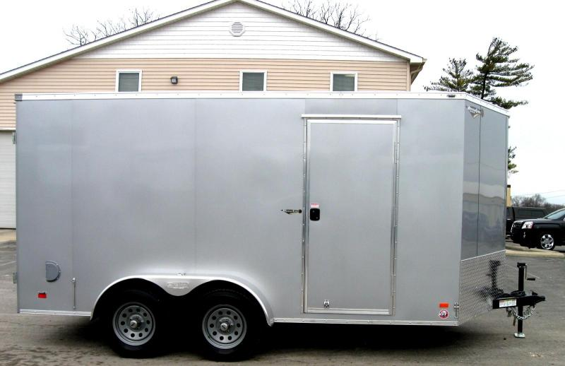 """7'x14' Scout Cargo with Plus Pkg. 6"""" Ext High Cargo Doors PLUS Free Upgrades"""