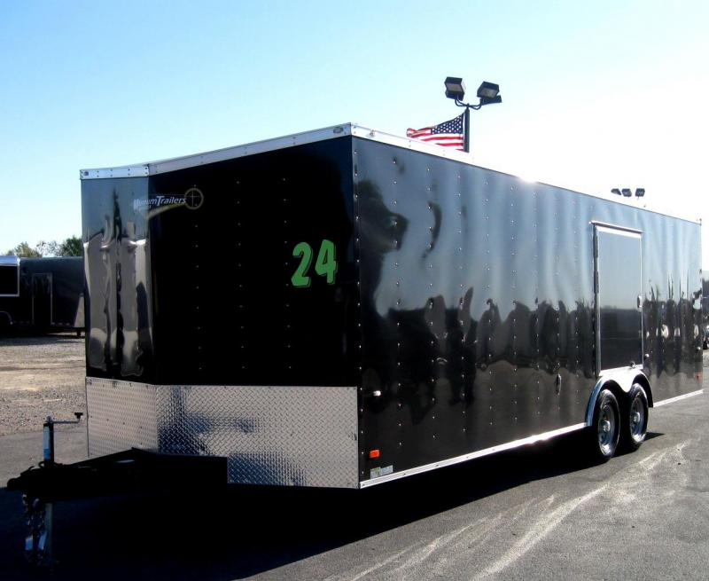 2019 24' Millennium Phantom Enclosed Trailer with Escape Door  in Ashburn, VA