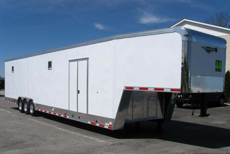 2019 44' Millennium Auto Master Enclosed Gooseneck Race Car Trailer in Ashburn, VA