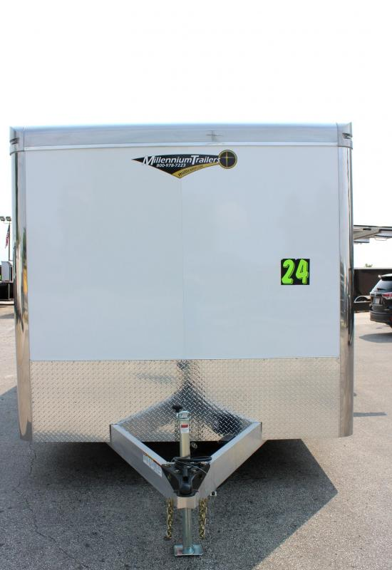 <b>Now Ready</b> 2020 24' Aluminum Millennium Extreme Lite with Removable Fender
