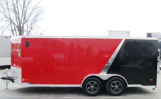 7' x 16' Low Rider Motorcycle Trailer