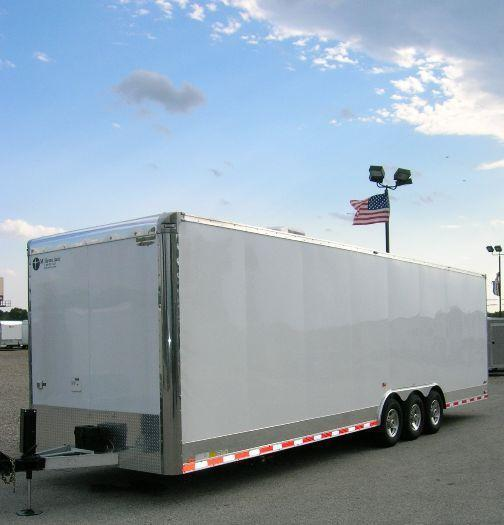 Custom 32' All Aluminum Trailer with Toilet & Shower in Ashburn, VA