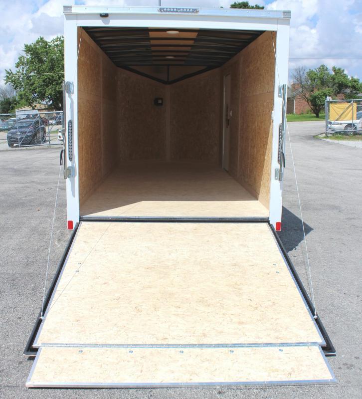 In Stock 2020  7' x 16' Scout Screwless Cargo with Ramp Door & FREE OPTIONS
