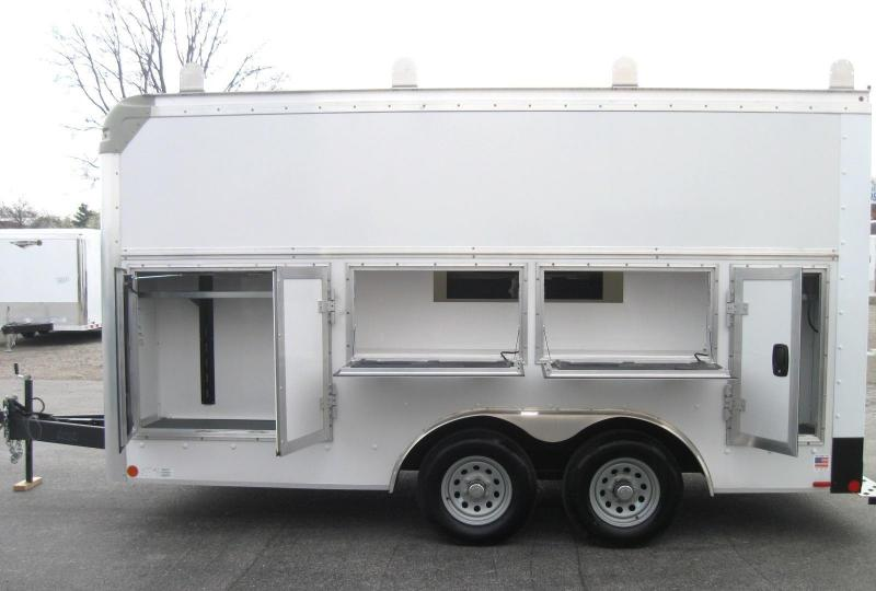 8'x15' Work 'n Tow Contractor's DREAM Tool Enclosed Trailer