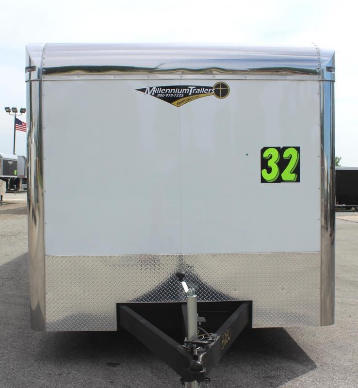Just Arrived 2019 32' Millennium Thunderbolt Tri-Axle Spread/ Alum Wheels