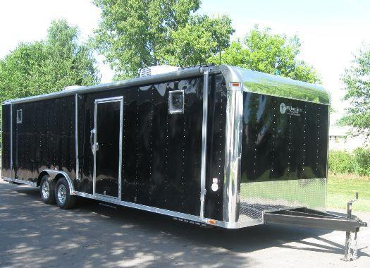 Custom 30' Command Center Enclosed Trailer in Ashburn, VA