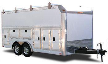 Millennium Tradesman Enclosed Contractors Trailer