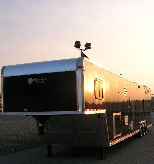 Custom Command Center Enclosed Gooseneck Trailer in Ashburn, VA