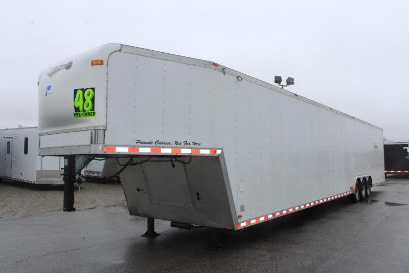 <b>REDUCED NOW $18899 </b> 2004 48' Pace American Shadow Car / Racing Trailer With Living Quarters  in Ashburn, VA