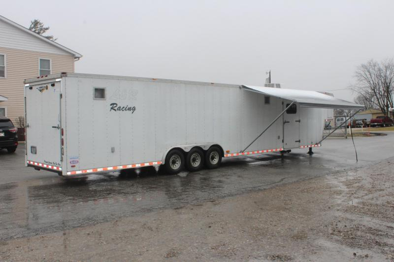 <b>Now Available </b> 2004 48' Pace American Shadow Car / Racing Trailer With Living Quarters