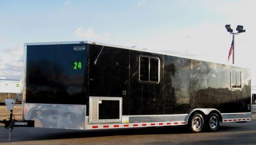 24' Millennium Custom Motorcycle Enclosed Trailer