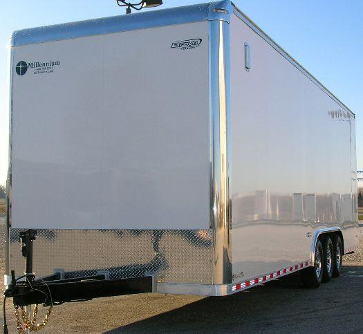 Custom 28' Trailer Vertical E-Track in Ashburn, VA