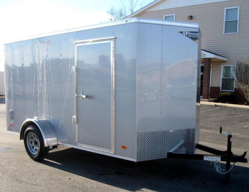 6'x12' Hero Economy Enclosed Cargo Trailer in Ashburn, VA