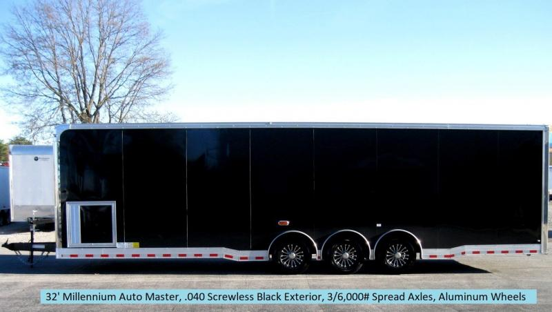2018 32' Millennium Auto Master Spread Triaxle Trailer/ Super Nice Interior in Ashburn, VA