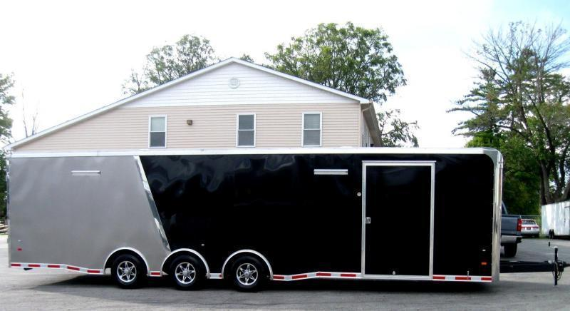 <b>Now Available</b> 2019 32' Millennium Thunderbolt Race Trailer Spread Axles Alum Wheels & More! in Ashburn, VA