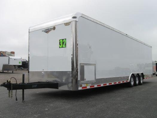 2018 32' Millennium Auto Master Tri Axle Enclosed Trailer