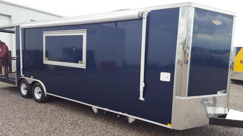 2018 H and H Trailer Concession Vending / Concession Trailer