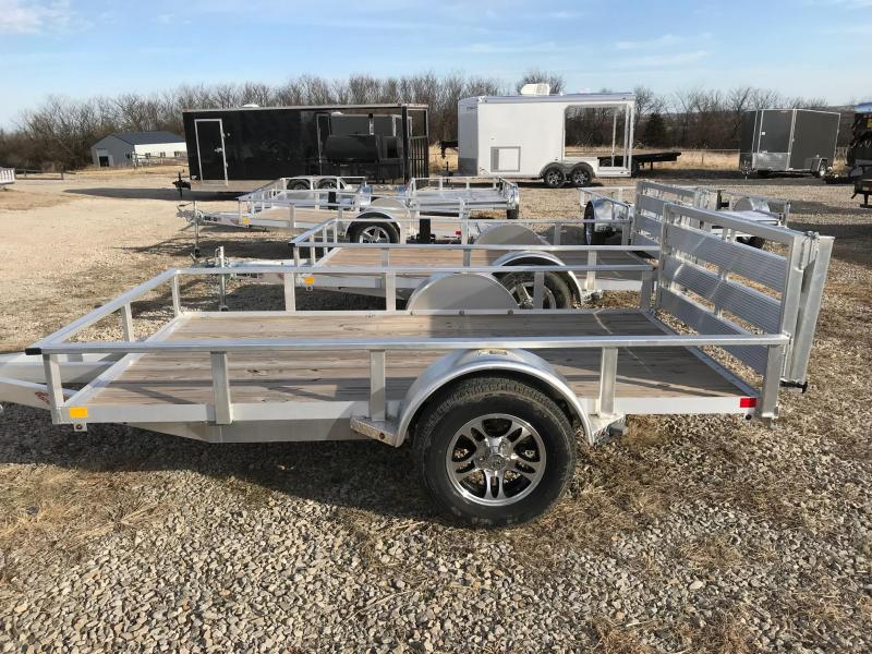 2018 H and H Trailer A1 10 Utility Trailer