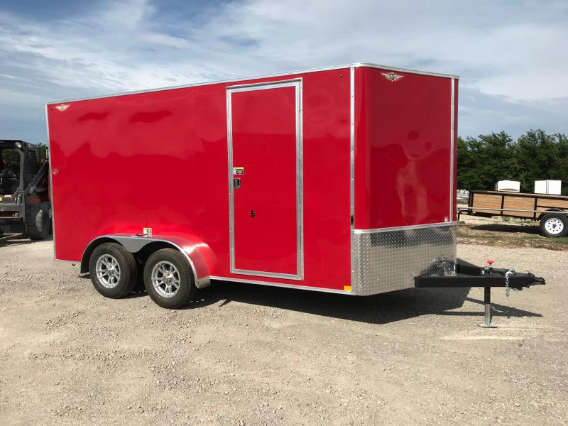 2018 H and H Trailer HH Enclosed Cargo Trailer