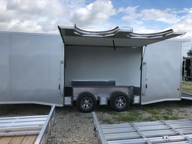 2018 Mission EZ HAULER Enclosed Cargo Trailer