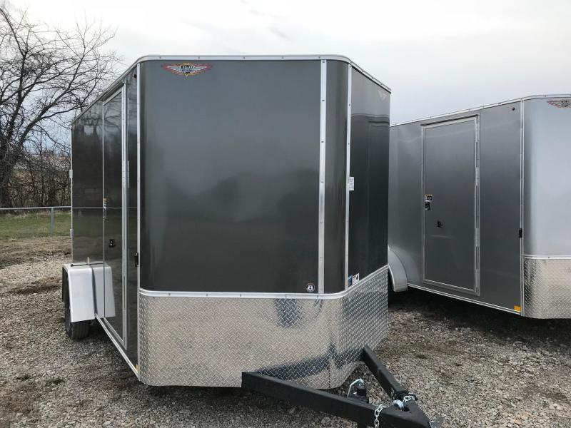 2018 H and H Trailer Cargo Trailers Enclosed Cargo Trailer