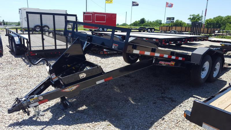 2018 H and H Trailer EX 20 Equipment Trailer