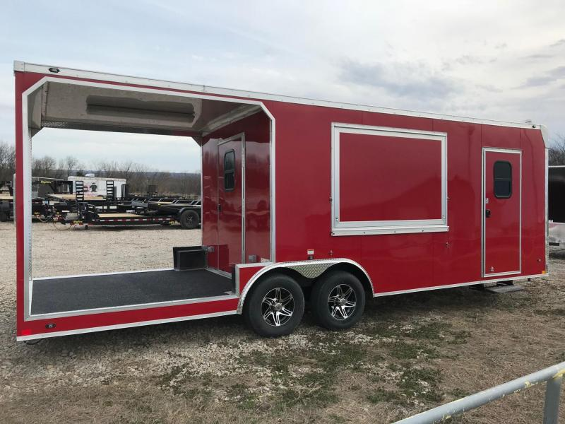 2018 Stealth Trailers BBQ/Concession Vending / Concession Trailer