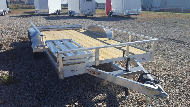 2018 H and H Trailer H8216 Utility Trailer