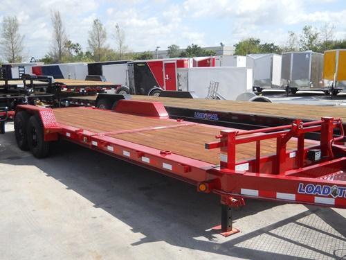 *T23* 7x24 7 TON Tilt Equipment Trailer 16' Title + 8' Flat 7 x 24   T83-16+8T7-GT