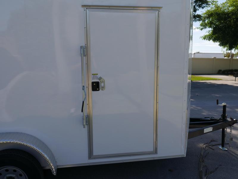 *E8E* 7x14 Enclosed Trailer Cargo Tandem Axle Tool Hauler |104839| 7 x 14 | EV7-14T3-DD